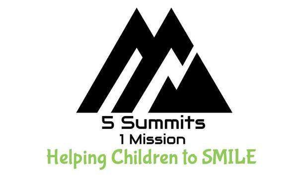 5 SUMMITS 1 MISSION HELPING CHILDREN TO SMILE