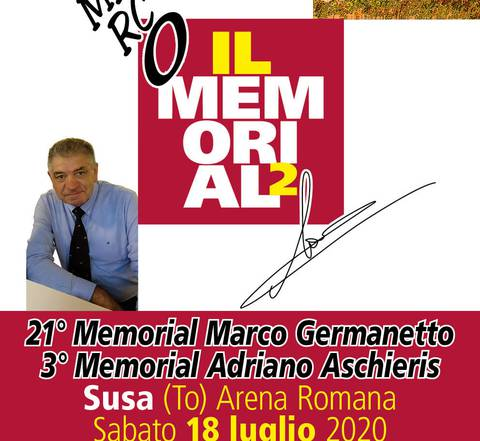 Apertura Memorial Marco Germanetto