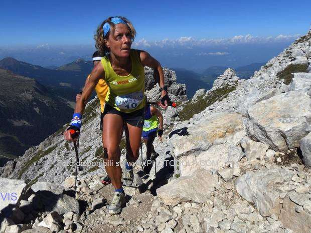 Barbara Cravello seconda al Latermar KV (foto mountainsport)