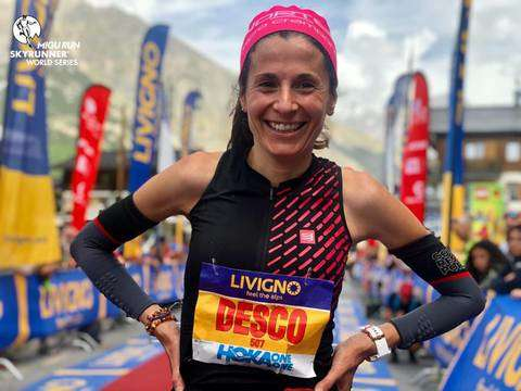 Elisa Desco in testa alle Skyrunning World Series (foto skyrunning)
