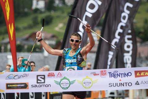 Franco Colle vincitore DoloMyths Run Ultra Trail (foto pegasomedia) (1)