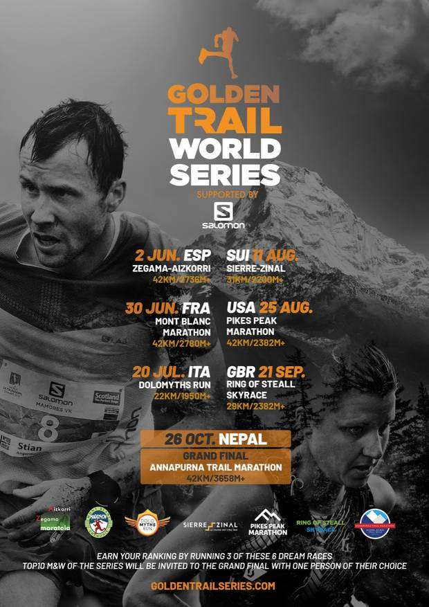 Golden Trail World Series 2019