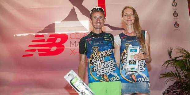 I vincitori del Cervino X Trail Brunod e Locatelli (foto FSA-Courthoud)