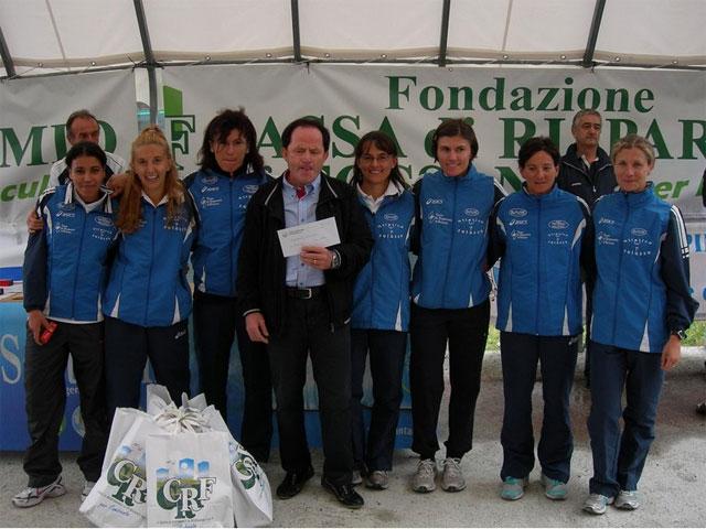 Nella staffetta Fossano-Rifugio Migliorero domina l' Atletica Saluzzo
