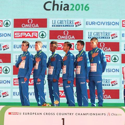 L'Italia Under23 Campione Europea di Cross (foto fidal)
