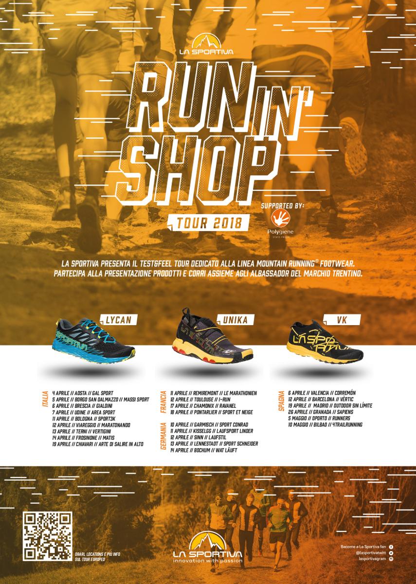 L Arte Di Salire Chiavari la sportiva run in shop tour | running passion