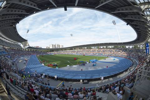Lo stadio di Parigi (foto European Athletics)