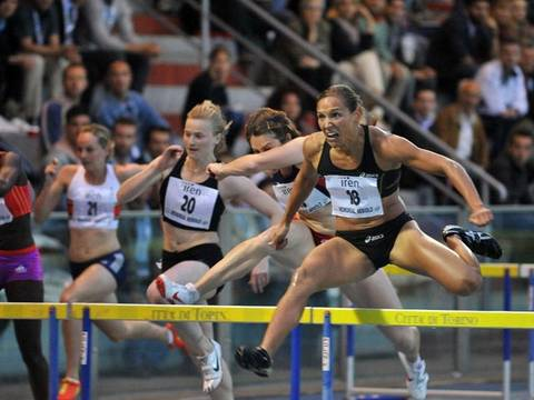 Lolo Jones al Meeting 2012