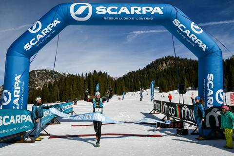 Marco De Gasperi vincitore Misurina Winter Run 2019 (foto Areaphoto) (3)