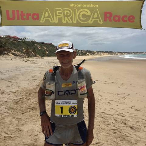 Marco Olmo vincitore Ultra Africa Race (foto fb Olmo)