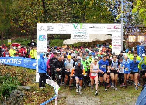 Partenza Brooks Valsusa Trail
