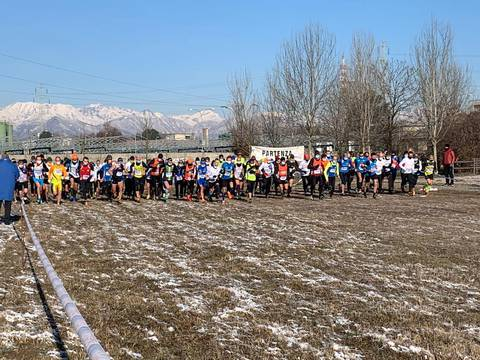 Partenza Cross di Borgaretto (foto Baudracco)