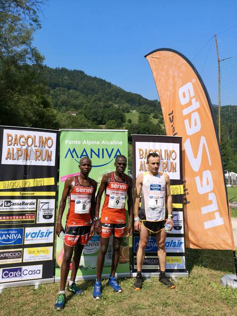 Podio Bagolino Alpine Run 2019