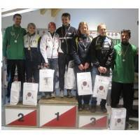 Podio ai tricolori middle di orienteering (foto grupposportivoforestale.it)