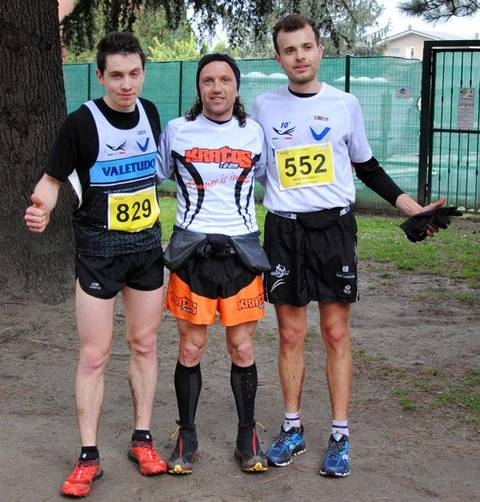 Podio maschile 18 km Electric Trail 2015 (foto Valetudo)