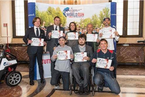 Presentazione Wings for Life World Run 2016
