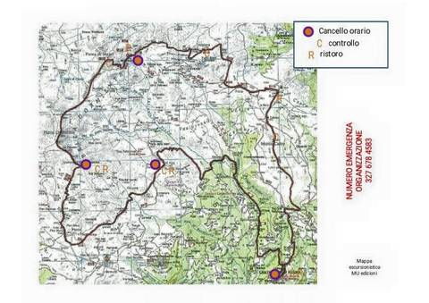 Roadbook Belladormiente skyrace