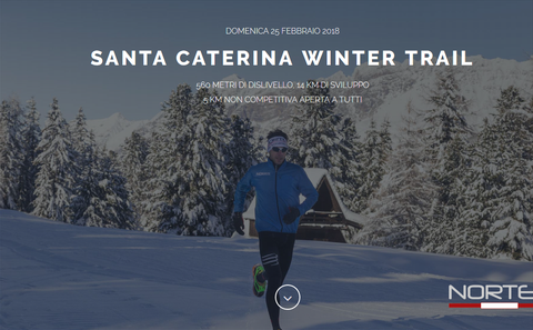 Santa Caterina Winter Trail