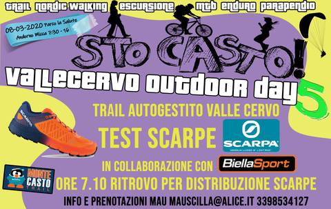Trail Autogestito Valle Cervo e Outdoor Days