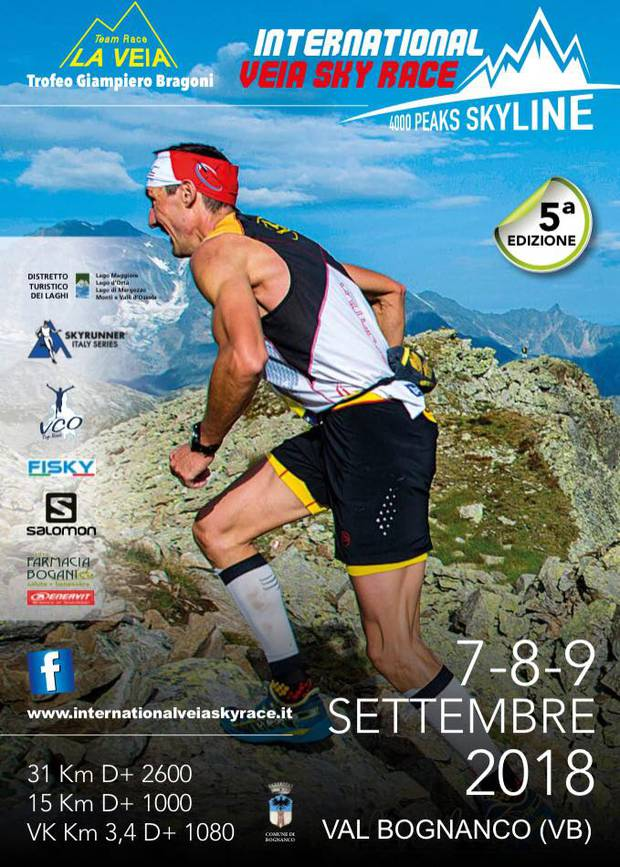 Volantino International Veia Sky Race