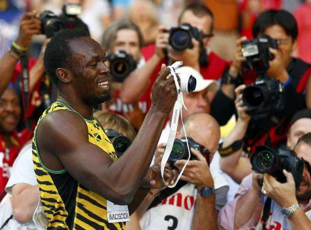 bolt 200m moscow 2013
