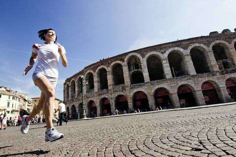 Wings for Life World Run Preshoot 2013 - Verona: Greta Cicolari
