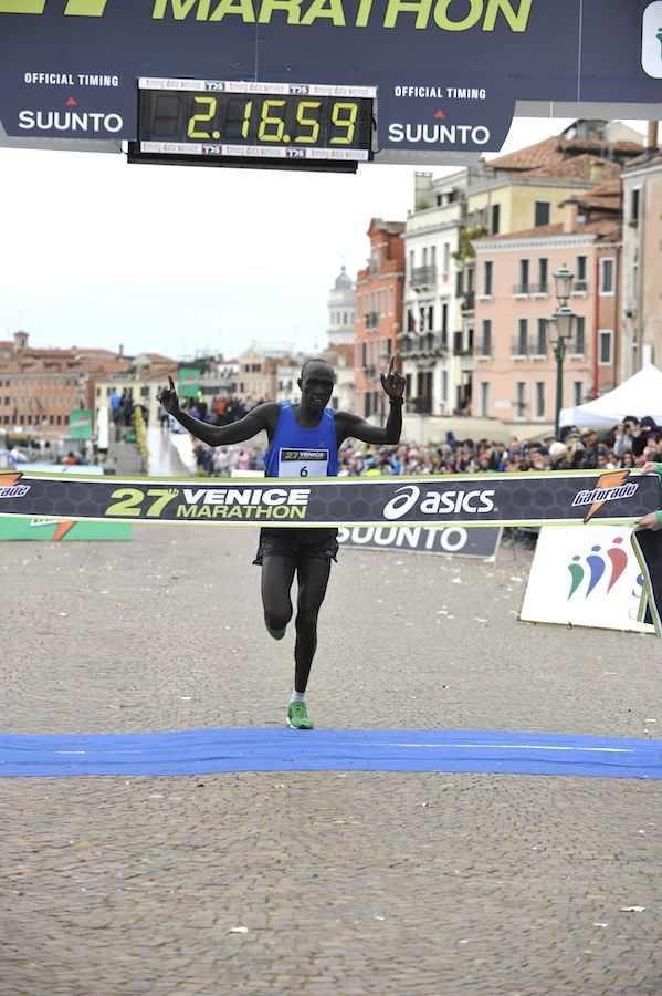Venice Marathon 2012, vince il keniano Kisang