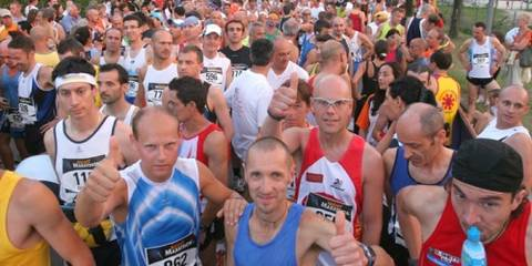 Partenza Jesolo Night Marathon 2007